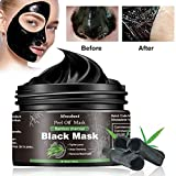 Black Mask, Blackhead Maske, Mitesser Maske, Schwarze Maske Gegen Mitesser, Bambus Holzkohle Peel Off Maske, Anti mitesser maske und Porenreinige, Tiefenreinigung Black face mas