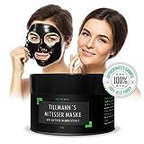 Mitesser Maske Schwarz Mitessermaske aus natürlicher Bambuskohle Black Head Blackhead Peel Reinigungsmaske tiefenreinigende Peel Off schwarze Gesichtsmaske von Tillmann's Deutschland